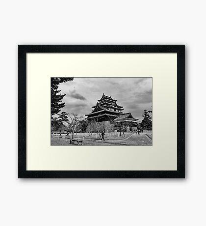 Timeless Matsue Castle  Framed Print