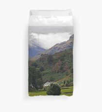 """Cloudfall on Bow Fell from Chapel Stile"" Duvet Cover"