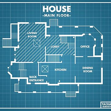 R6 - Blueprints - House [Roufxis -RB] by RoufXis