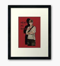 Newt The Glue  Framed Print