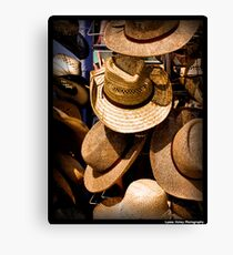 Hats, Hats and More Hats Canvas Print
