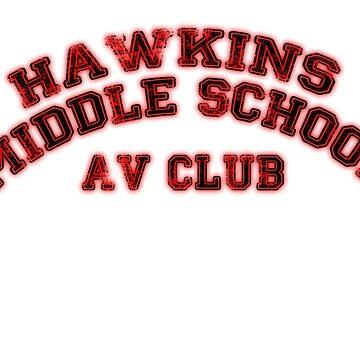 Hawkins AV Club by Leway13