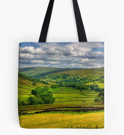Looking Down The Dale. Tote Bag