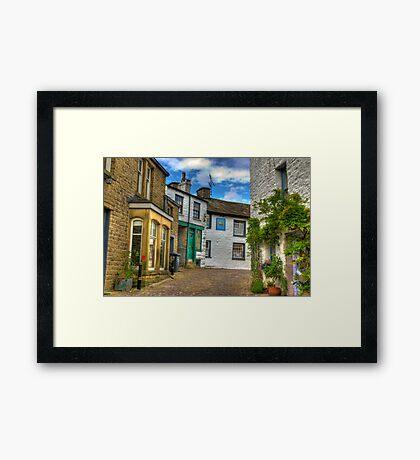 Dent Village Street Framed Print