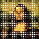 Mona Lisa: Pixels by Trevor Boyle