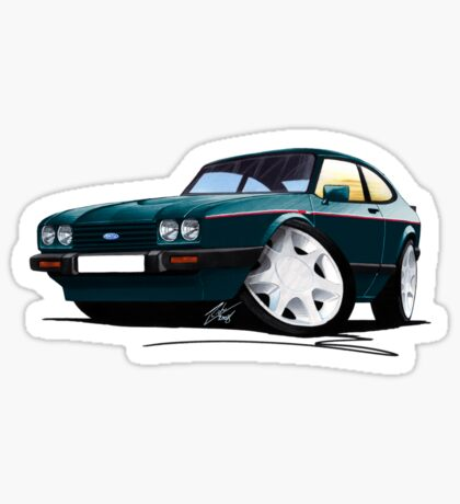 Ford Capri (Mk3) 280 Brooklands Sticker