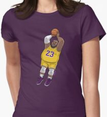 LeBrownie - icon jersey Women's Fitted T-Shirt
