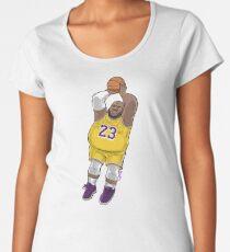 LeBrownie - icon jersey Women's Premium T-Shirt