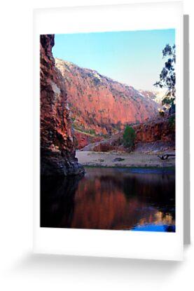 West Macdonald Gorge by Alex Fricke