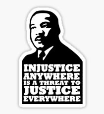 MLK Qoute Sticker