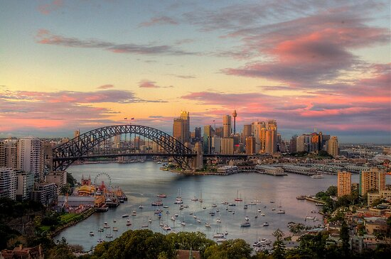 Morning - Moods of A City - The HDR Experience by Philip Johnson
