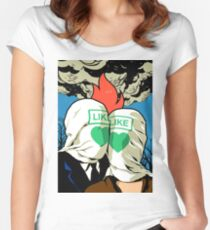 The Fire Lovers Women's Fitted Scoop T-Shirt