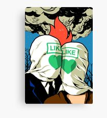 The Fire Lovers Canvas Print