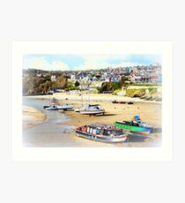 New Quay, West Wales Art Print