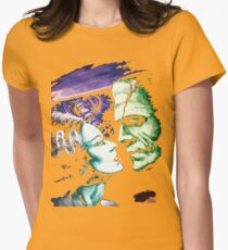 Bride & Frankie Monsters in Love Womens Fitted T-Shirt