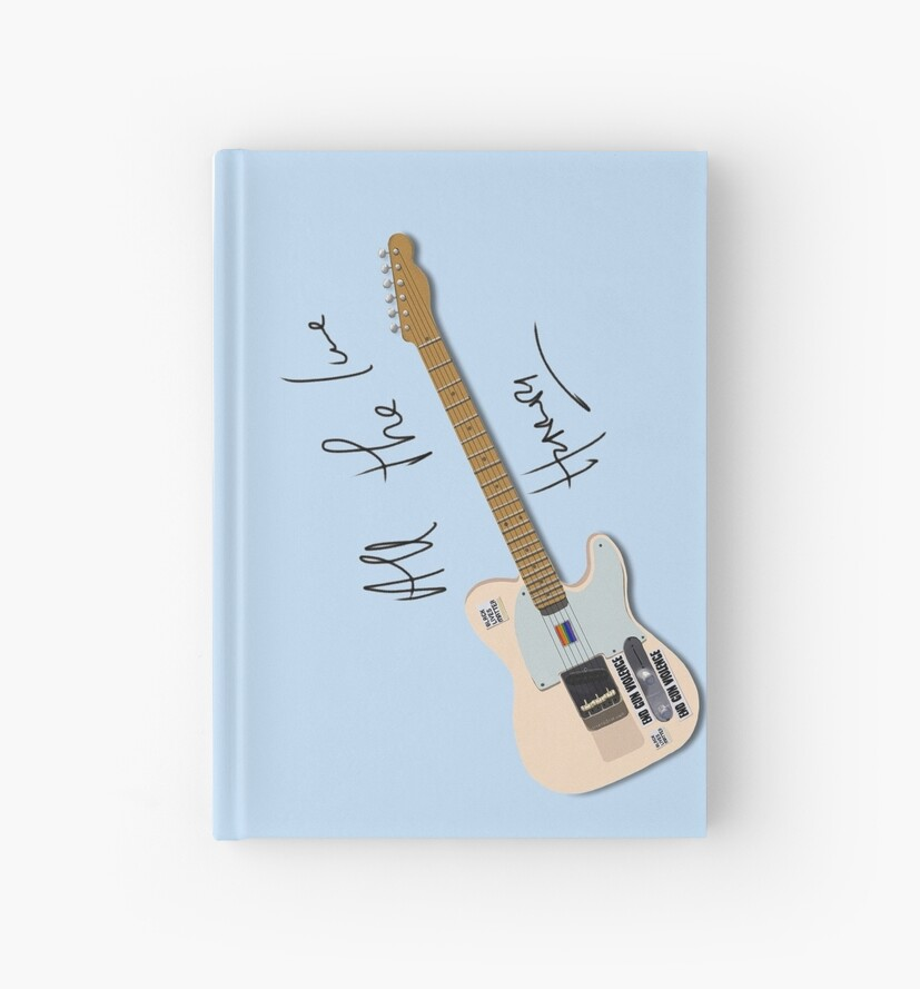«La guitarra de Harry» de artisticfanny