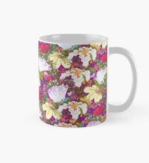 Flowers gone WILD! All kinds PURPLE! Mug