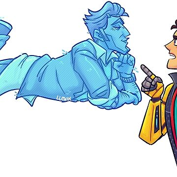 Rhack Rhys and Handsome Jack inspired Tales From The Borderlands Design by lutnik