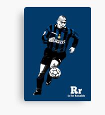 R is for (the real) Ronaldo Canvas Print