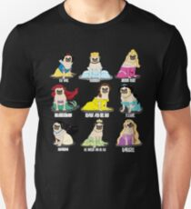 Mops Prinzessinnen Slim Fit T-Shirt