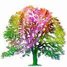 The Rainbow Oak by heidiannemorris