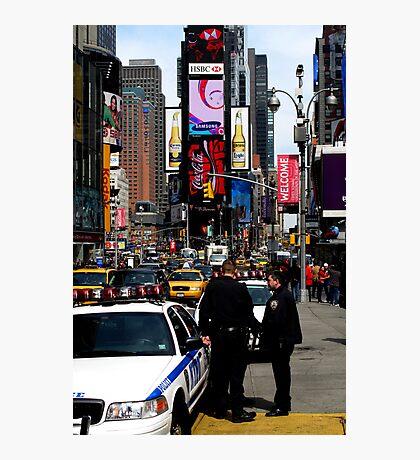 New York Police - Manhattan, New York Photographic Print