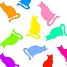 Rainbow Cats by Emma-McKinley