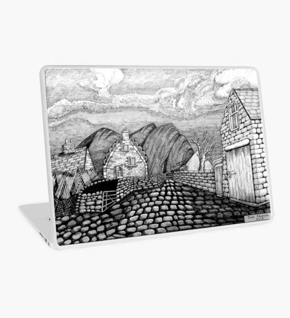 271 - STYLISED CREGNEASH VIEW - DAVE EDWARDS - INK - 2018 Laptop Skin