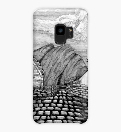 271 - STYLISED CREGNEASH VIEW - DAVE EDWARDS - INK - 2018 Case/Skin for Samsung Galaxy
