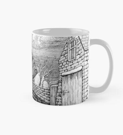 271 - STYLISED CREGNEASH VIEW - DAVE EDWARDS - INK - 2018 Mug