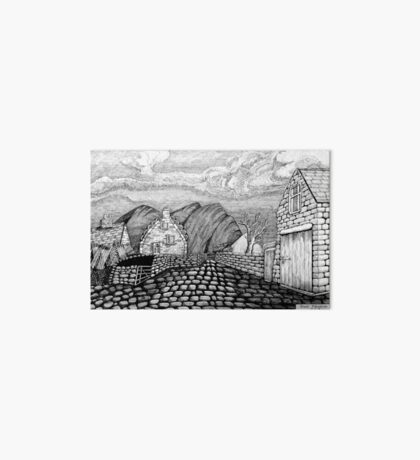 271 - STYLISED CREGNEASH VIEW - DAVE EDWARDS - INK - 2018 Art Board