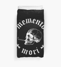 Memento Mori Rauchender Schädel Bettbezug