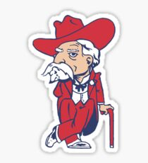 Colonel Reb - Ole Miss Sticker