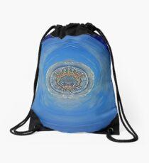 The Little Blue Planet Drawstring Bag