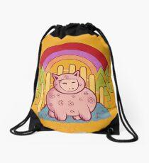 Pigsuit Drawstring Bag