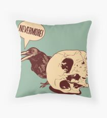 Nevermore EDPOE Throw Pillow
