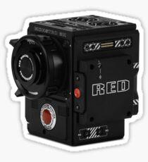 Rote Kamera Sticker