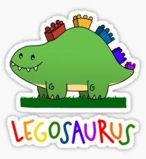Legosaurus - With Text Sticker