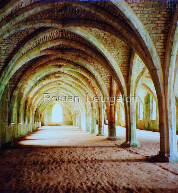 Fountains Abbey - Cellarium by Rowan  Lewgalon