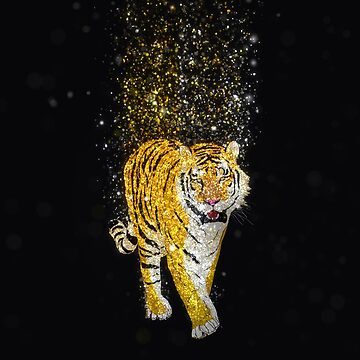 Glitter Tiger by TinaGraphics