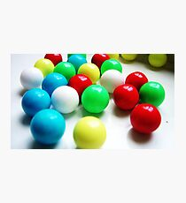 coloured candy Photographic Print