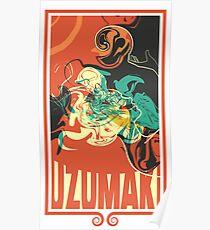 Uzumaki inspired design Poster