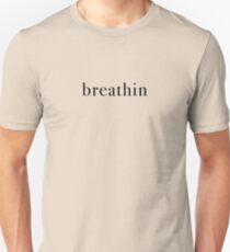 Breathin - black Unisex T-Shirt