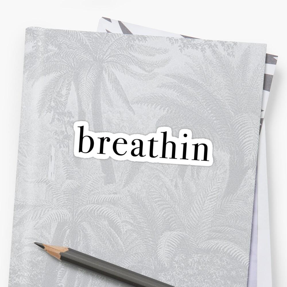 Breathin - black by KaiDee