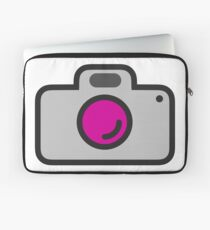 Scratch'd Camera Icon Laptop Sleeve