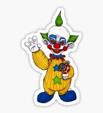 Shorty the Killer Klown Sticker