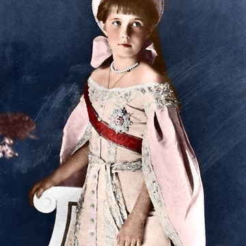 Anastasia Nikolaevna - 1911 Colorized by Laurynsworld