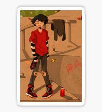 Skater Boy Andrew Sticker