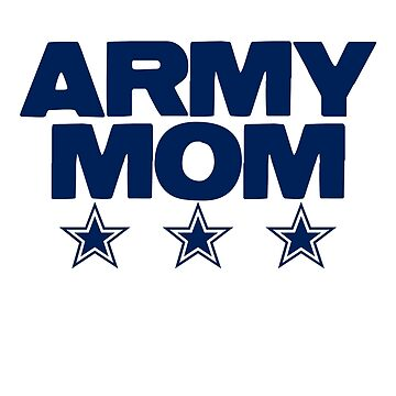 Army Mom T-shirt by Rightbrainwoman