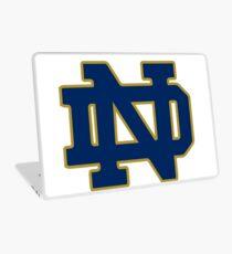 Classic Notre Dame Logo Laptop Skin